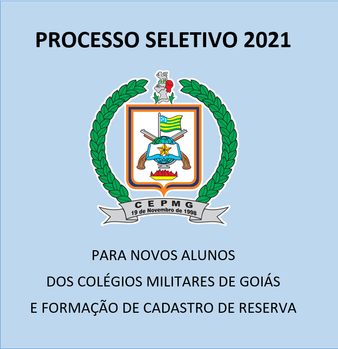 Edital do processo seletivo 2021